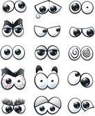Kreslený oči kolekce