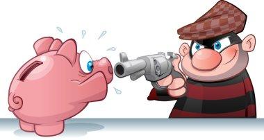 Piggy Bank Burglar