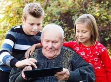 Modern grandfather
