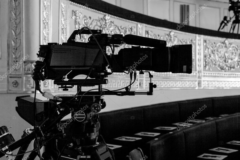 Video camera in a theater