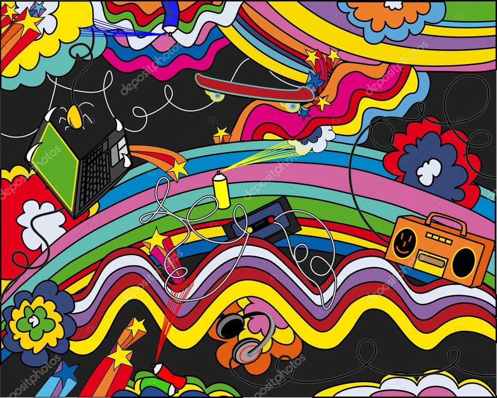 pop-art background