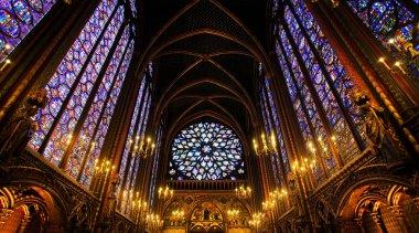 Sainte-Chapelle Chapel in Paris, France.