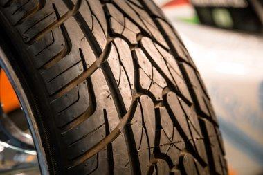 Wheel close up