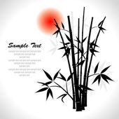 Fényképek Bambusz, vektoros illusztráció