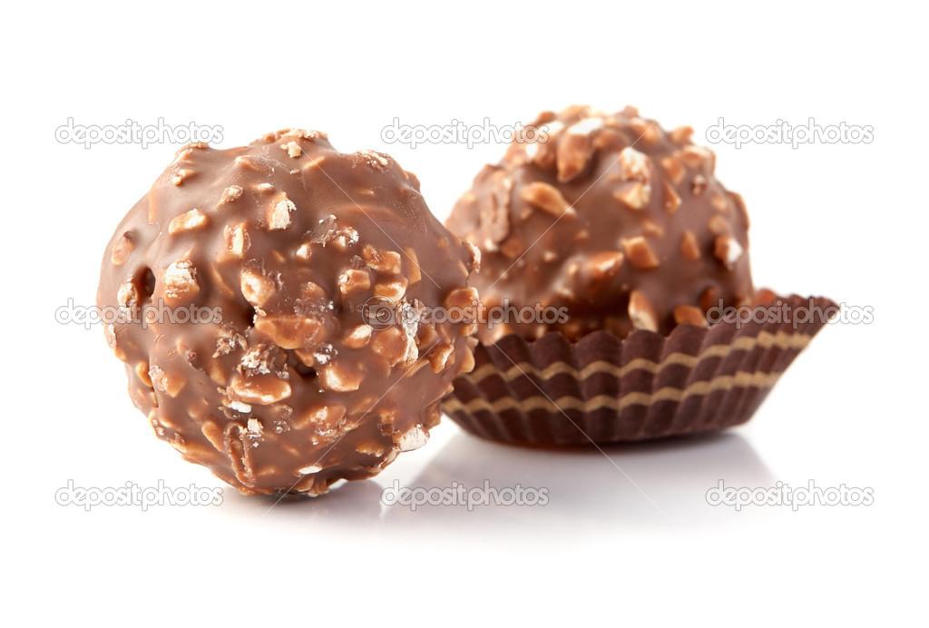 choklad med nötter