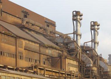 Heavy industrial iron plant