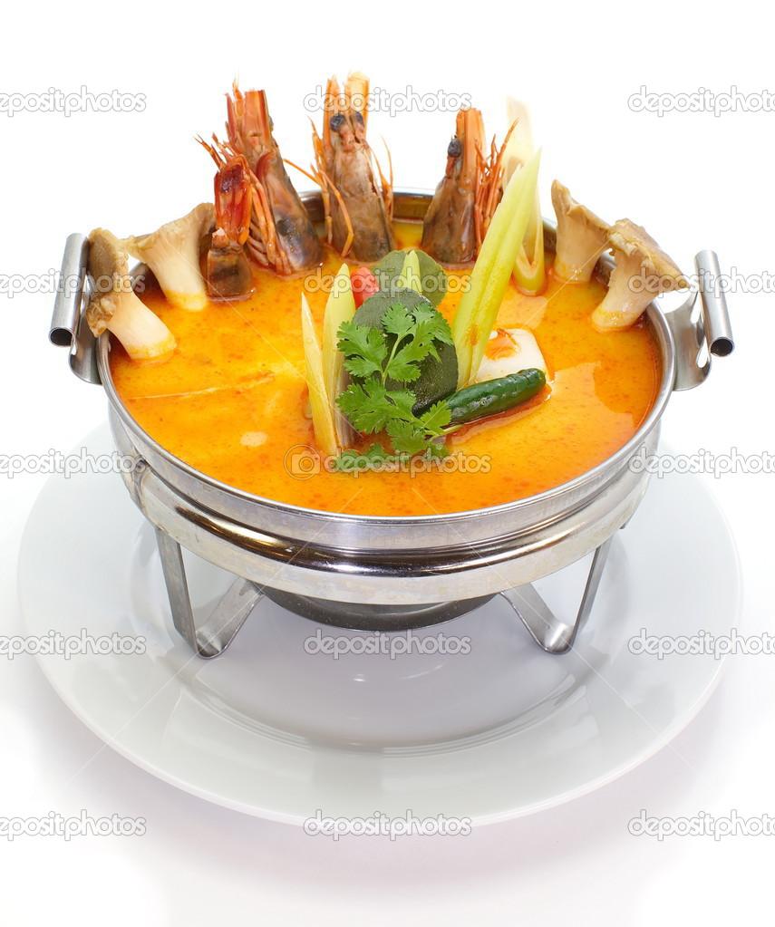 Karidesli Mantar Çorbası