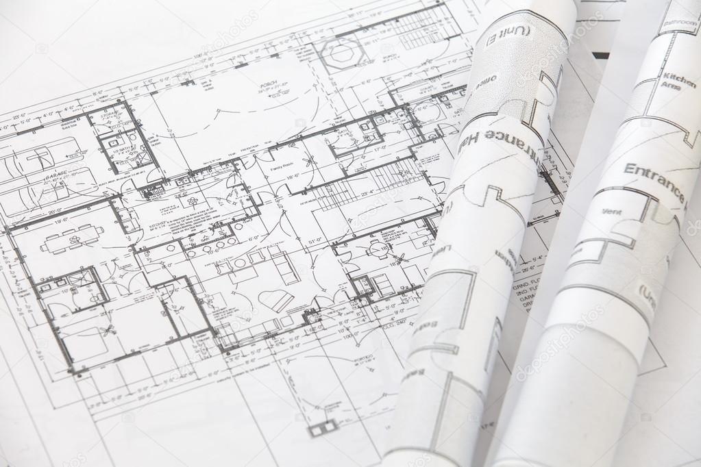 архитектор катится и планирует - Стоковое фото © Torsakarin