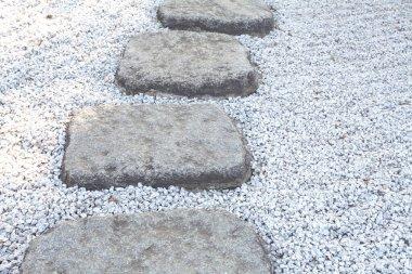 Zen stone path