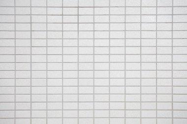 Modern white concrete tiles wall