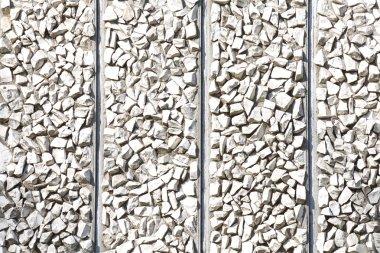 White block stone pattern