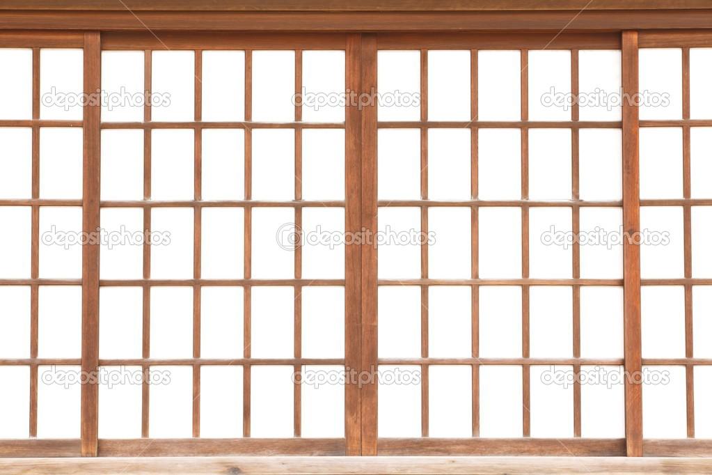 textura del japons shoji papel puerta corredera u foto de torsakarin