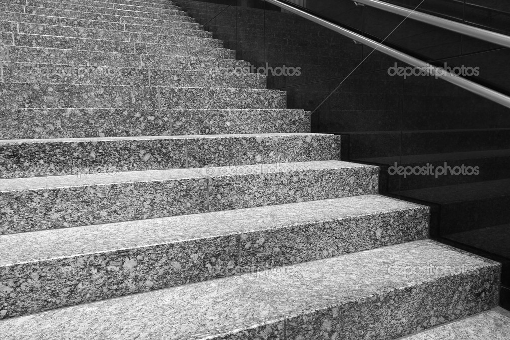 Detail On Granite Staircase Outdoor U2014 Photo By Torsakarin