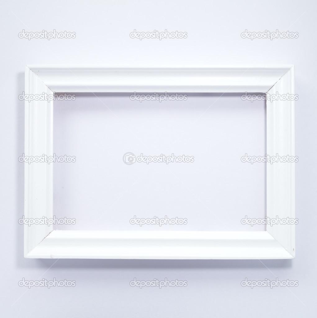 marco de madera blanco — Fotos de Stock © Torsakarin #47676355
