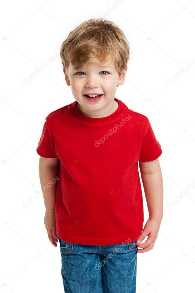 Cute Boy Looking
