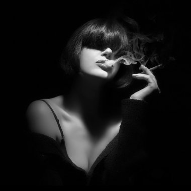 Smoking. Smoke