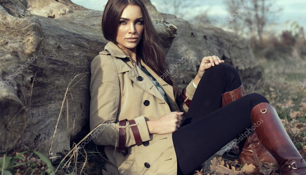 Fashion woman outdoor