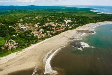Costa Rica Beach from the Air