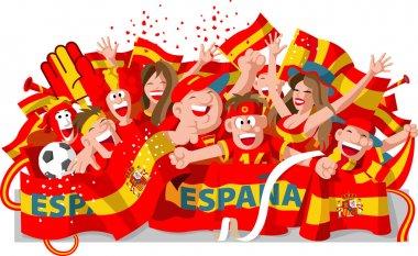 Spain Soccer Fans
