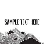 Fotografia geometrico astratto moderno. cornice quadrata per tuo tex