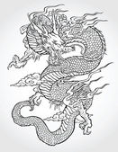 Photo Dragon Tattoo Illustration