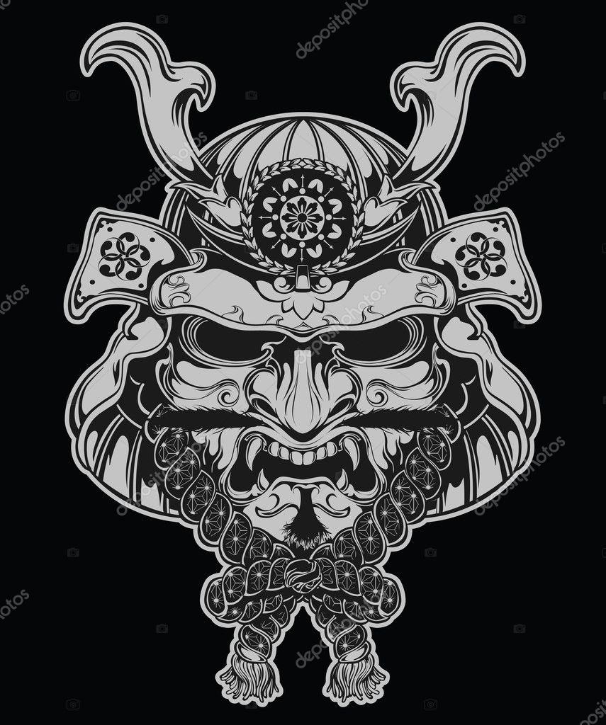 ᐈ Samurai Warriors Tattoos Stock Vectors Royalty Free Samurai Illustrations Download On Depositphotos
