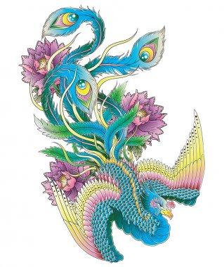 Japanese Peacock