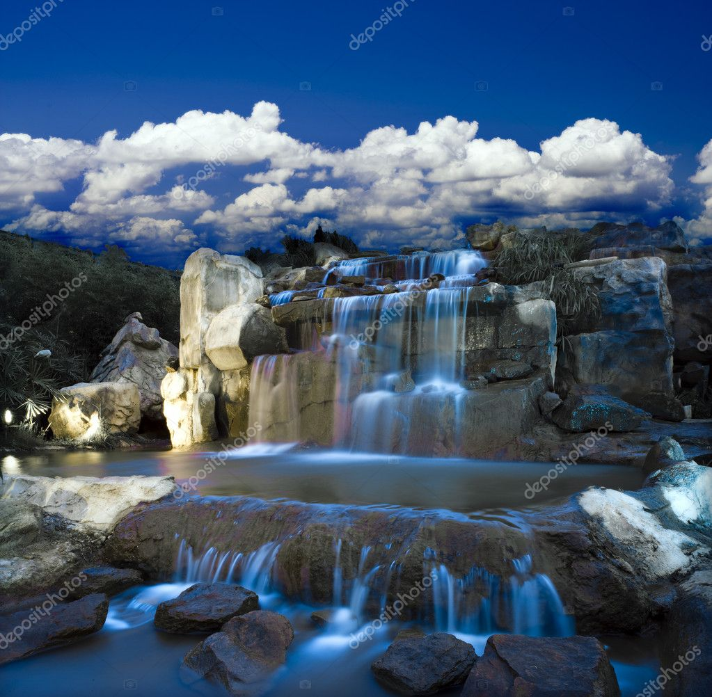 Фотообои Fantasy waterfall