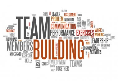 Word Cloud Team Building