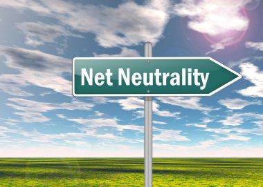 Signpost Net Neutrality