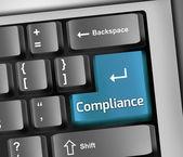 Fotografie Keyboard Illustration Compliance
