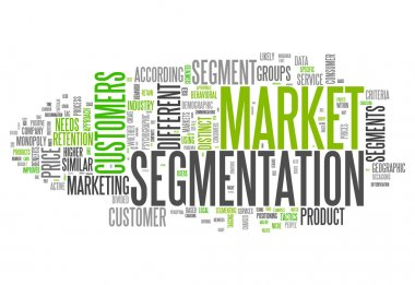 Word Cloud Market Segmentation