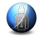 Icon, Button, Pictogram Physician