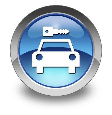 Icon, Button, Pictogram Car Rental