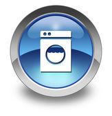 ikony, tlačítka, piktogram prádelna