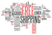 Fotografie Word Cloud Free Shipping