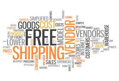 Word Cloud Free Shipping