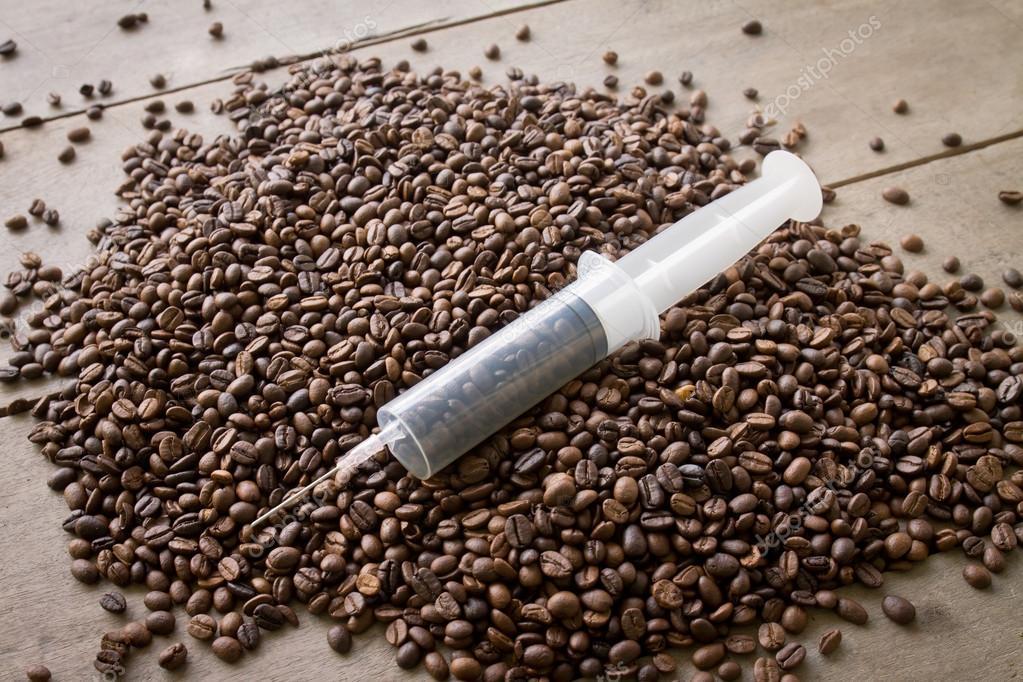 Spuiten cafeïne