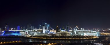 Panorama of the cultural, commercial and social center of Astana