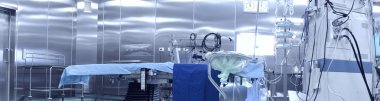 Operating room. Interior and modern equipment