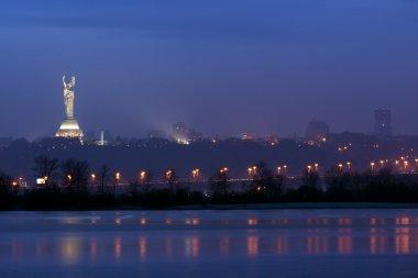Kiev panorama of Kiev right bank