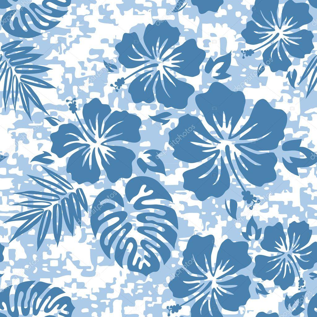 Aloha Hawaiian Shirt Pattern