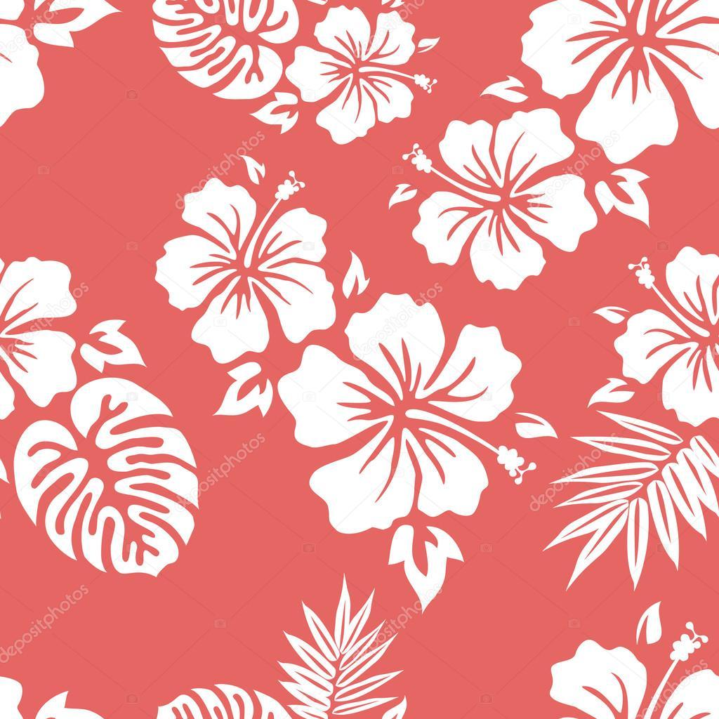 Hawaiian Aloha Shirt Seamless Background Pattern Vector By Junglebay