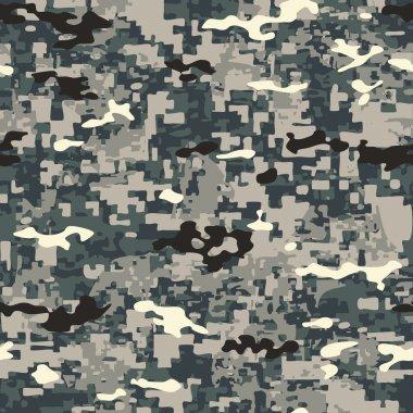 Urban Jungle Camouflage  Pattern