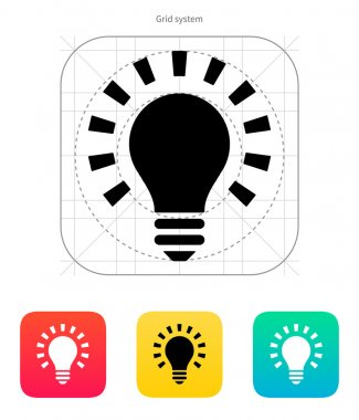 More light icon. Vector illustration.