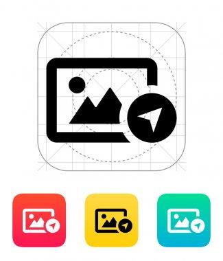 Location photo icon.