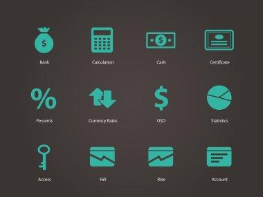Economy icons.