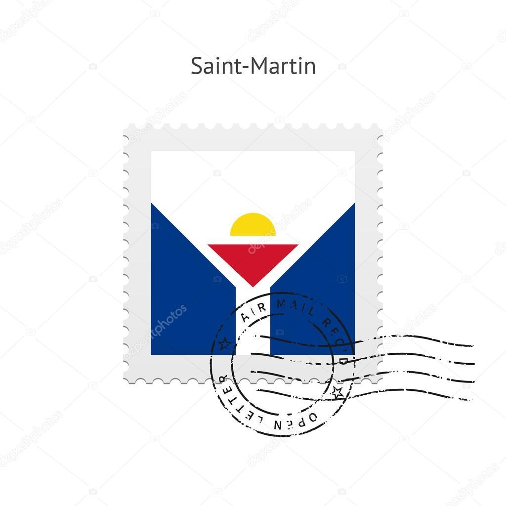 サン ・ マルタン フラグ切手 — ...