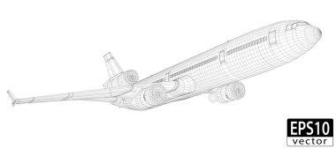 Plane Wireframe