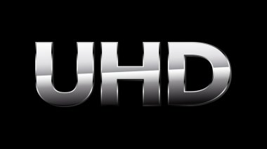 UHD Sign (Silver)